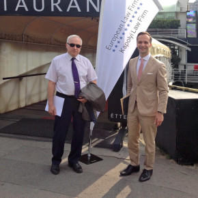 Varis Klotiņš un Ivo Klotiņš piedalās EUROPEAN LAW FIRM kopsapulcē Budapeštā