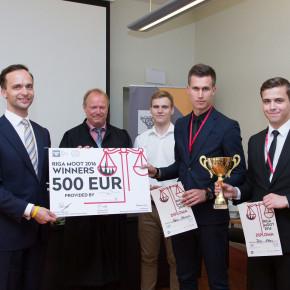 KLOTIŅI SERĢIS atbalsta Riga Moot 2016