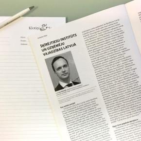 KLOTIŅI SERĢIS piedalās konferencē un Jurista Vārds publikācijā par civilprocesa problēmjautājumiem
